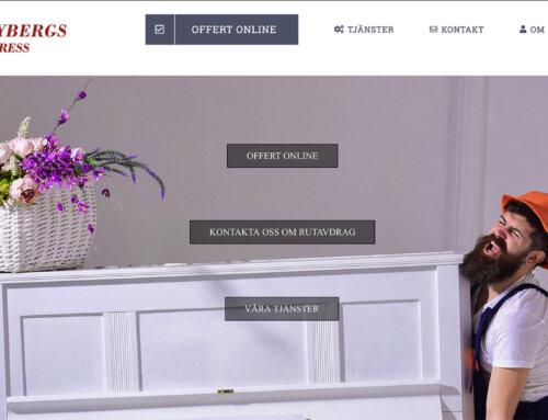 Tilkom presenterar ny webbplats för Sundbybergs FlyttExpress