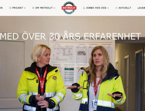Metrolit AB har fått en ny webbplats!
